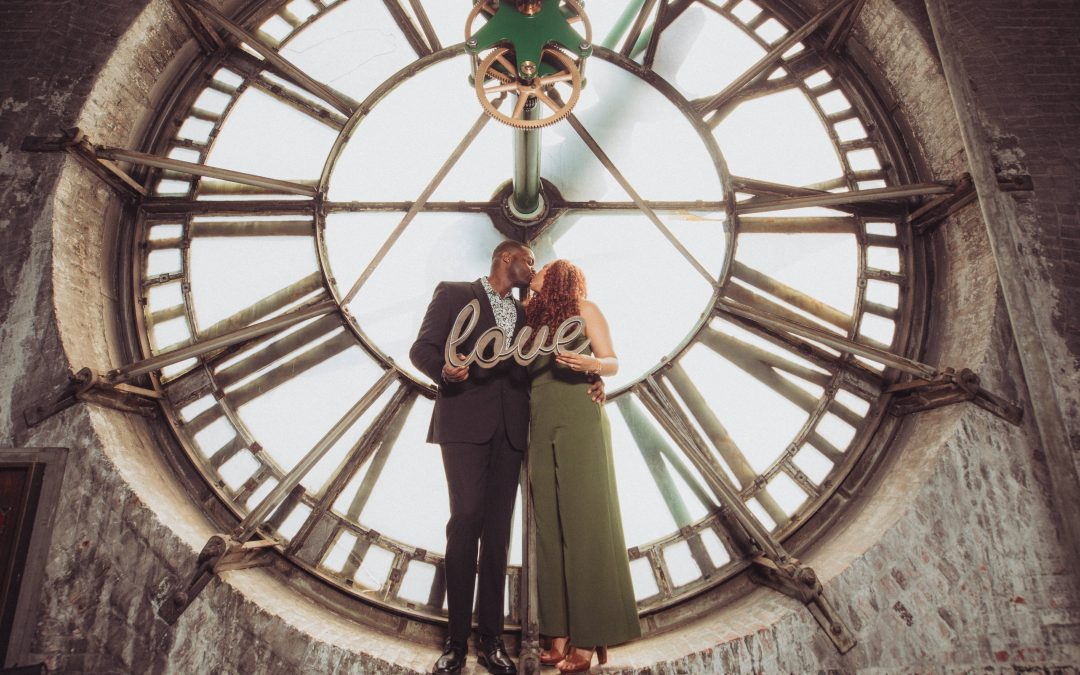 Bromo Seltzer Tower Engagement Session